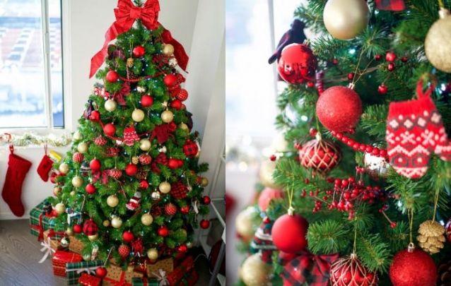 Dourado e vermelho, o duo perfeito de natal!