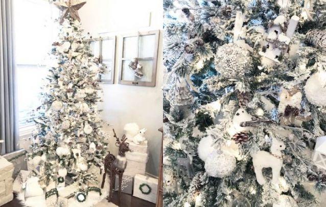 Animais da floresta como corujas, pássaros e cervos estão em alta na decoração de natal