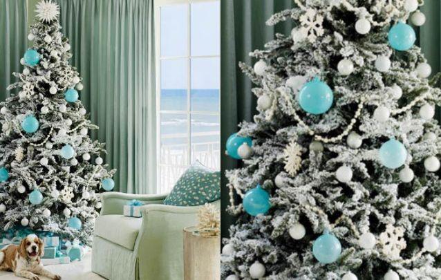 Azul e branco é uma combinação perfeita para ambientes próximos à praia