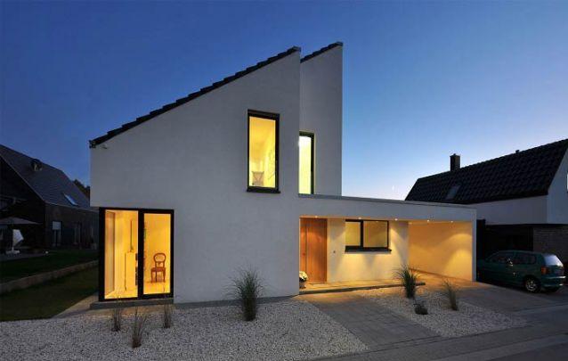 Casa moderna com design singular