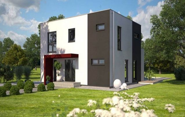 Cinza e branco, uma combinação de cores perfeita para uma casa moderna