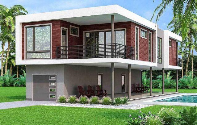 Simplicidade e modernismo estão presentes nesta construção