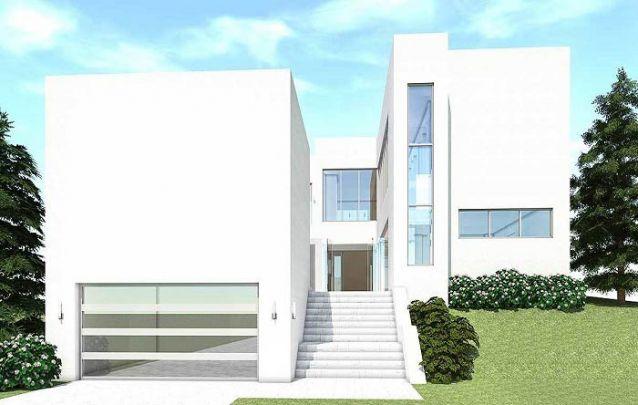 O branco reafirma a linha moderna seguida por esta casa