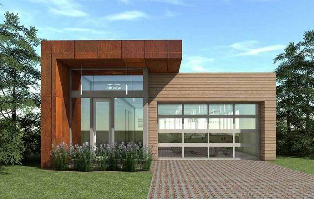 Se você está em busca de casas modernas com plantas pequenas, esta é uma ótima alternativa