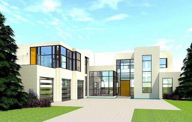 Que tal se inspirar nesta casa moderna para criar seu projeto?