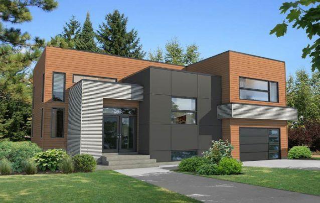 Telhado de cobertura plana é presença constante em casas modernas