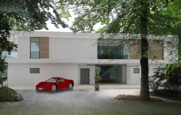 Linhas planas são capazes de criar uma casa moderna e elegante