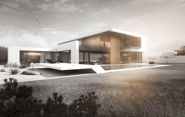 Que tal essa casa moderna para se inspirar?