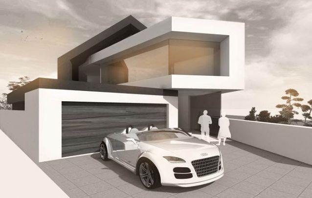 Este projeto com certeza é um dos mais irreverentes que você vai encontrar dentre os modelos de casas modernas