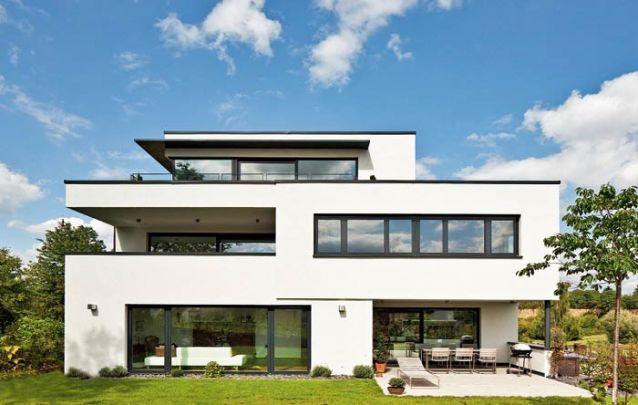 Design moderno e clean compõem esta casa
