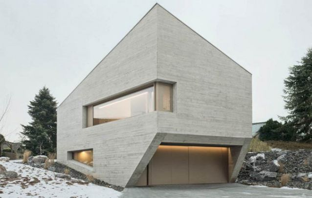 Uma opção bem inusitada entre designs de casas modernas