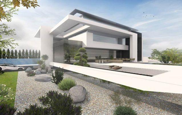 Modernidade está estampada na fachada desta casa!