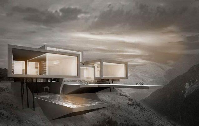 Uma casa moderna e futurista para quem quer ousar no seu projeto