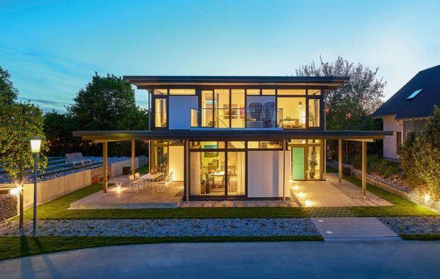 Aposte em um projeto de jardinagem para valorizar ainda mais a sua casa moderna