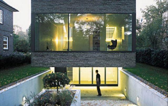 Uma casa moderna com um toque jovial