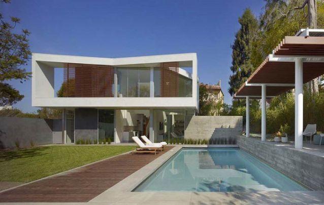 Um segundo andar diferenciado é a atração deste projeto modernista
