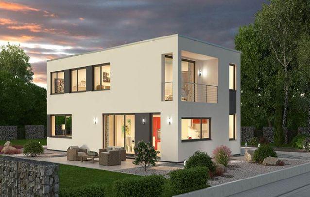 Mais uma opção de casa moderna em formato de cubo para que você possa se inspirar