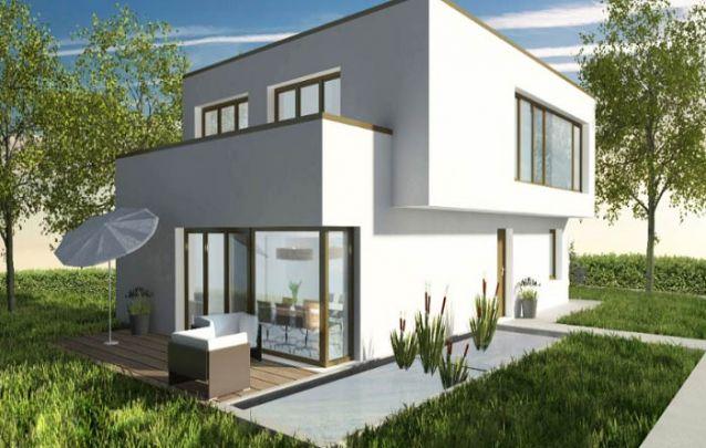 Já está casa moderna é uma opção segura para quem deseja optar por este estilo de construção, mas sem arriscar muito no design