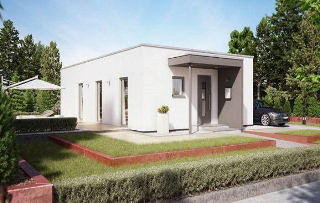 Uma opção para quem busca casas modernas pequenas
