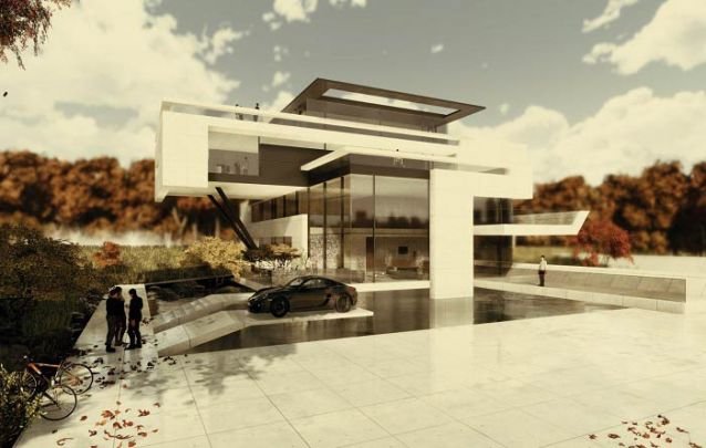 Está em busca de casas modernas? Esta opção é ideal para quem procura um design inovador
