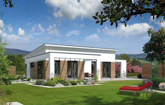 Mais uma delicada opção para quem está procurando casas modernas pequenas