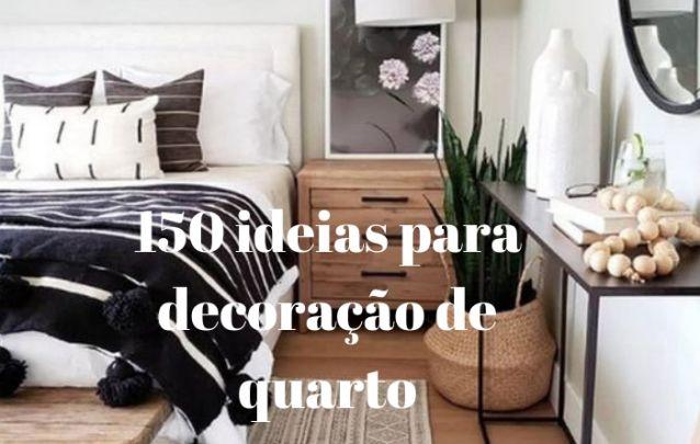 150 ideias para decoração de quarto