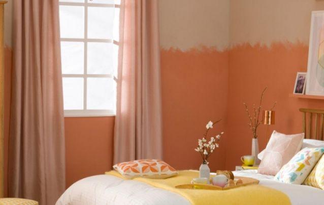 Você pode apostar em uma pintura diferenciada nas paredes para realçar a decoração do cômodo
