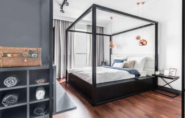 A cama dossel, comum nos quartos de nobres do século XVI, volta como tendência de decoração para quartos modernos