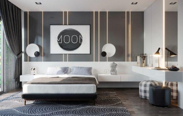 O cinza em diferentes tonalidades, é tendência no design de interiores