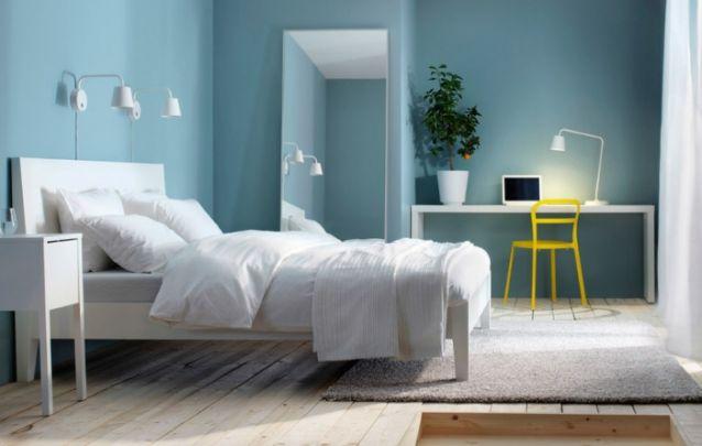 Se você está em busca de inspiração para criar um quarto simples, esta é uma boa opção