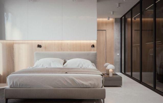Tons de madeira clara deixam o decor do ambiente mais leve e moderno