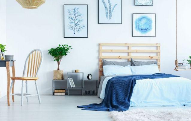 Decoração de quarto clean e aconchegante
