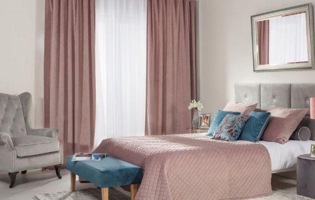 Este tom de rosa envelhecido está em alta na decoração de quartos