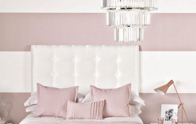Listras horizontais nas paredes são indicadas para ambientes estreitos