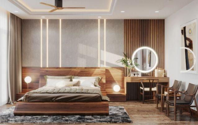 O uso da madeira na decoração de ambientes está cada vez maior