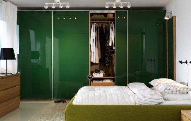 O verde é uma ótima escolha para criar um ambiente equilibrado e harmonioso