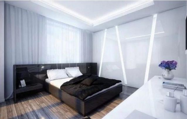 Luzes embutidas deixam o ambiente aconchegante e contemporâneo