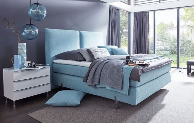Azul e cinza, um duo de cores atuais