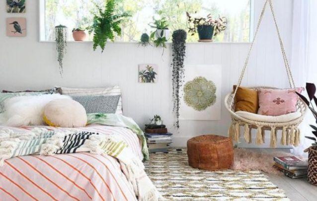 Que tal um balanço em seu quarto como peça de destaque?