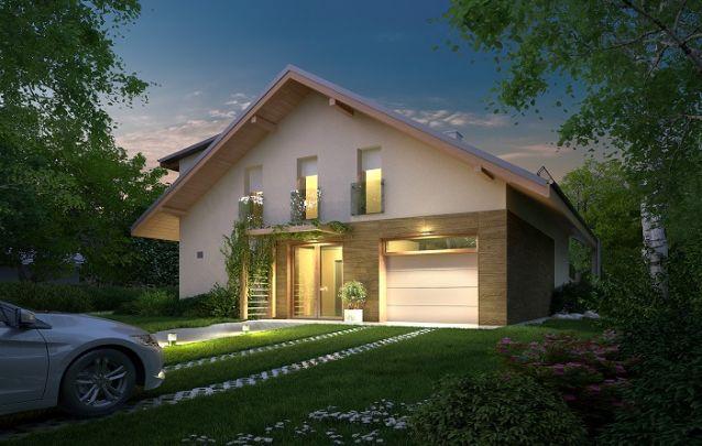 Modelo de casa simples, porém elegante