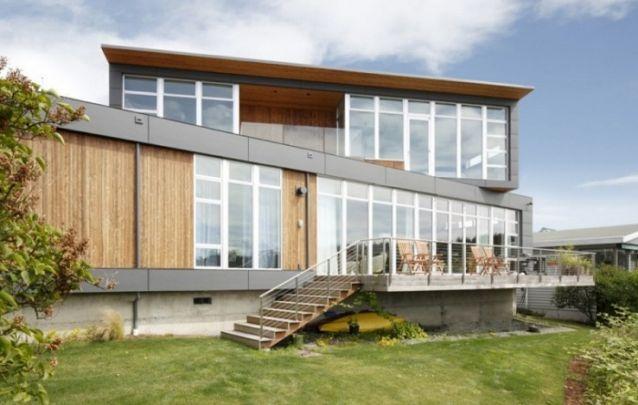 Assimetria é característica dos projetos de casas contemporâneas
