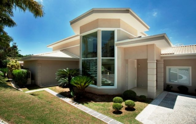 Que tal uma fachada diferente para a sua casa?
