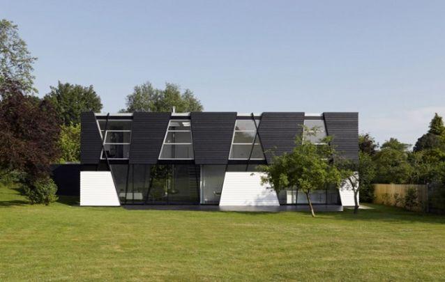 Se você busca um design contemporâneo, este modelo de casa é uma ótima opção