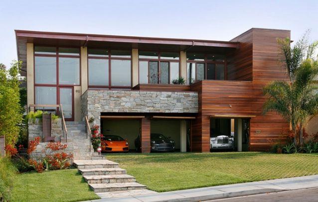 Modelo de casa contemporâneo e elegante