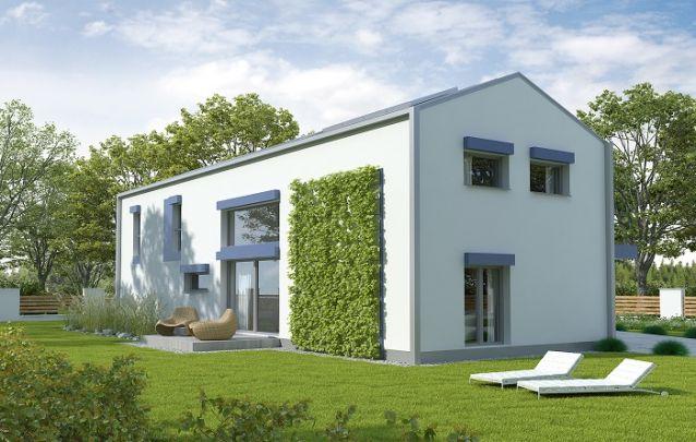 Apostar em um jardim vertical na parede externa da casa é uma boa ótima ideia