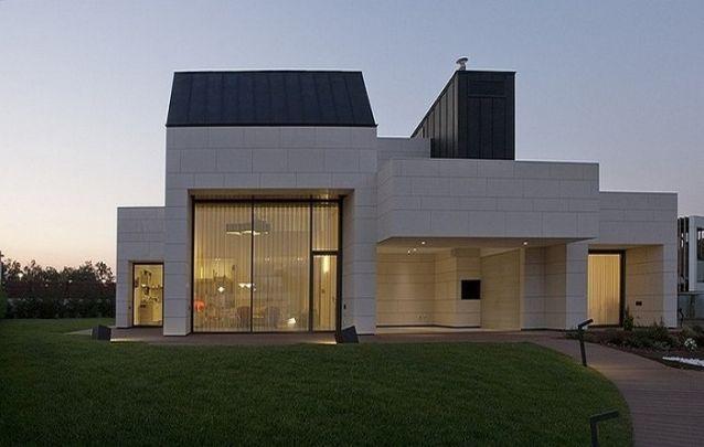 Projeto de casa com design diferenciado
