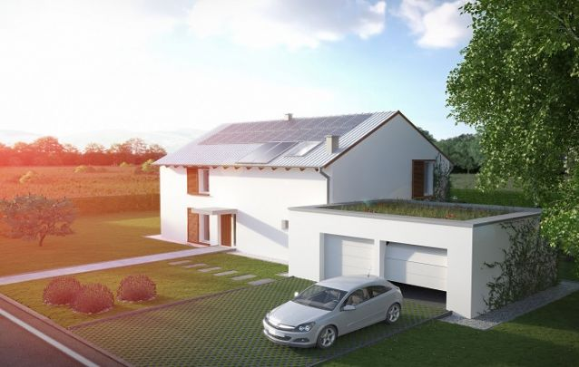 Para trazer mais sustentabilidade para o seu projeto, aposte em um terraço verde acima da garagem