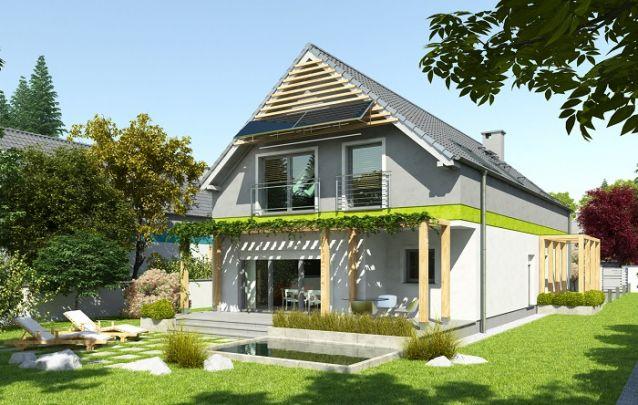 Projeto de casa que mescla alvenaria e madeira