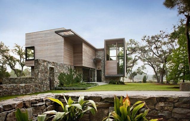 Se você procura por projetos de casas sofisticadas, este é uma ótima inspiração