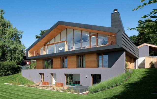 Projeto de casa com três andares